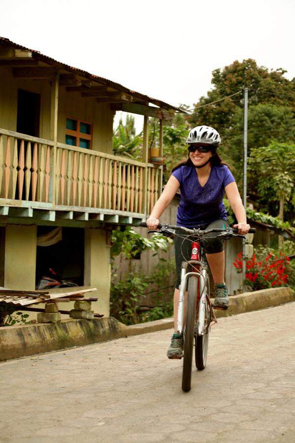 Ciclismo en el noroccidente del Dstricto Metropolitano de Quito