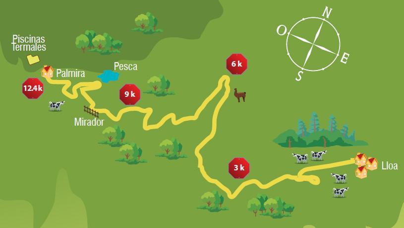 ciclismo ruta tur237stica lloa � palmira