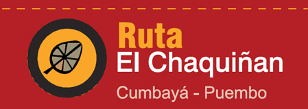 Logo Ruta Ciclismo Chaquiñan - Cumbayá- Puembo
