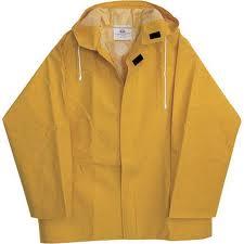 Prenda ligera de abrigo hecha de tela impermeable